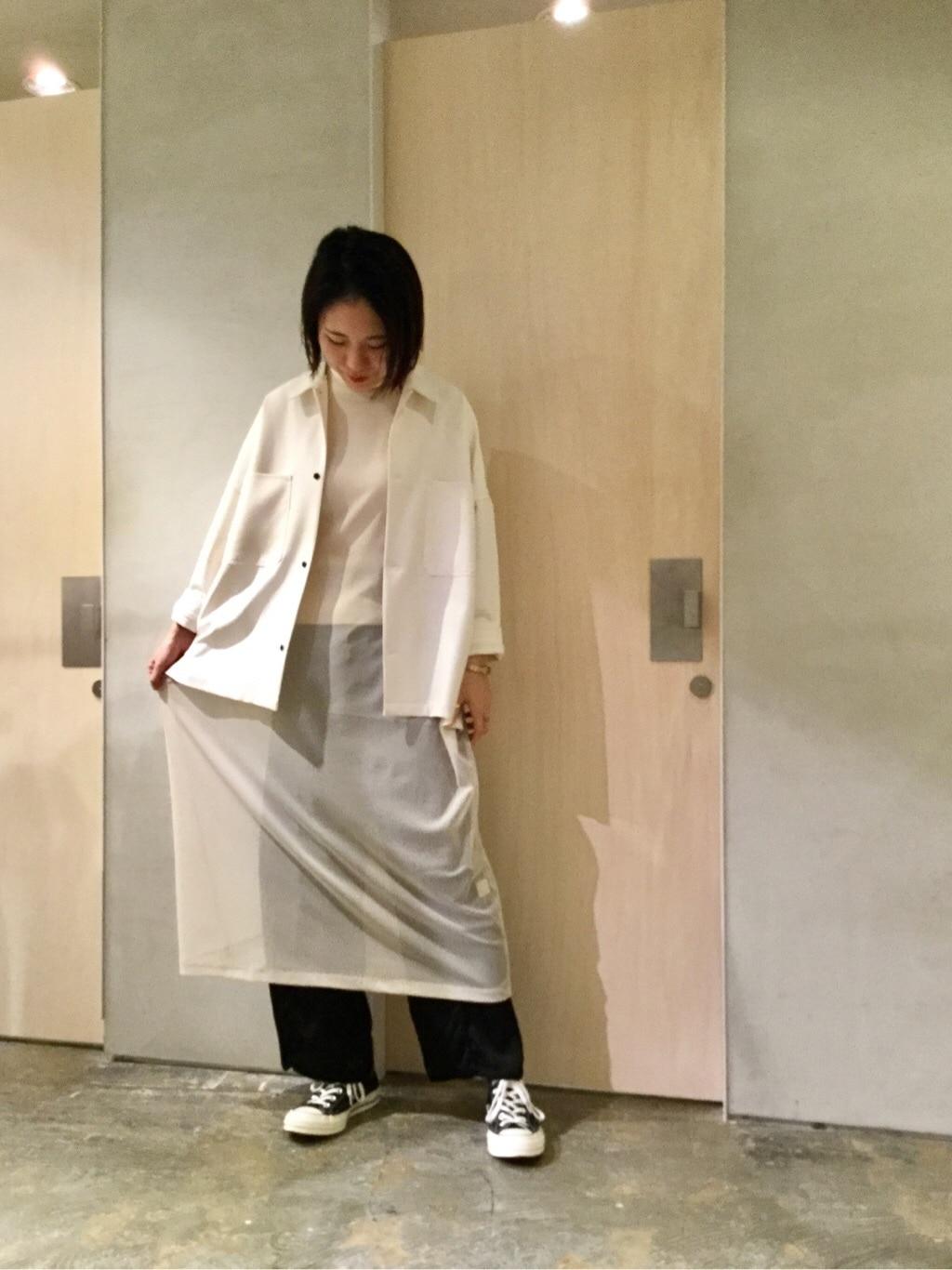 note et silence. ルミネ新宿 身長:169cm 2019.12.13