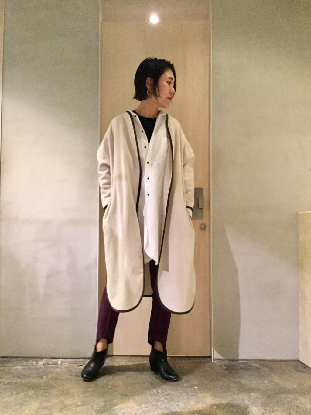 note et silence. ルミネ新宿 身長:169cm 2019.11.03