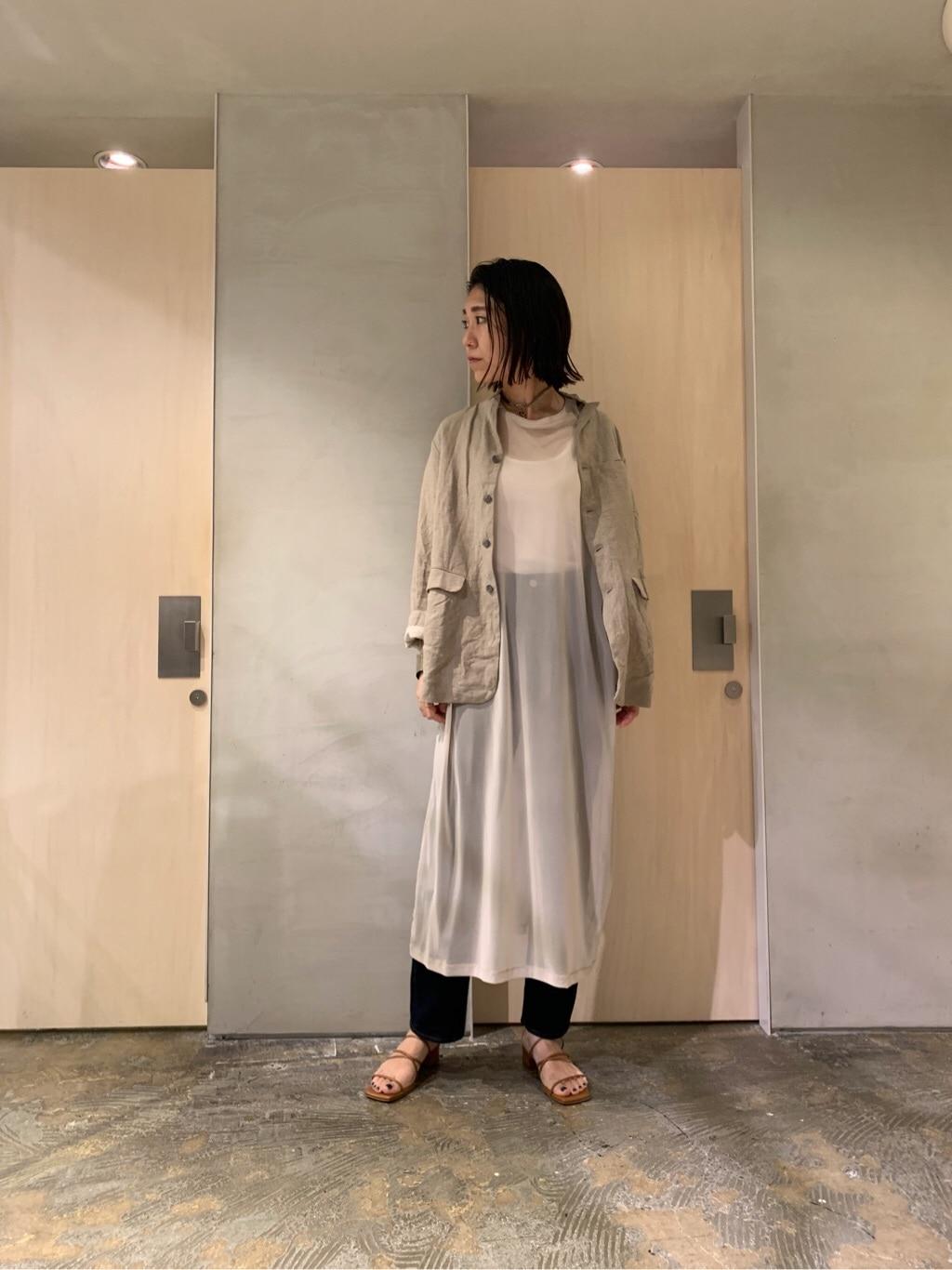 note et silence. ルミネ新宿 身長:169cm 2020.07.31