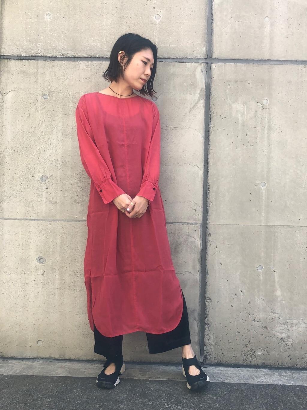note et silence. ルミネ新宿 身長:169cm 2020.06.11