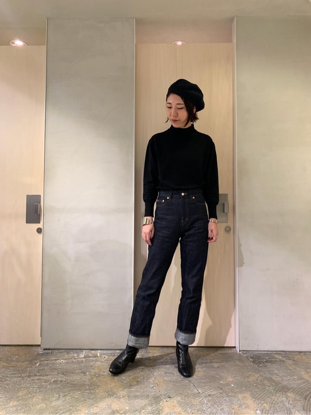 note et silence. ルミネ新宿 身長:169cm 2019.11.29