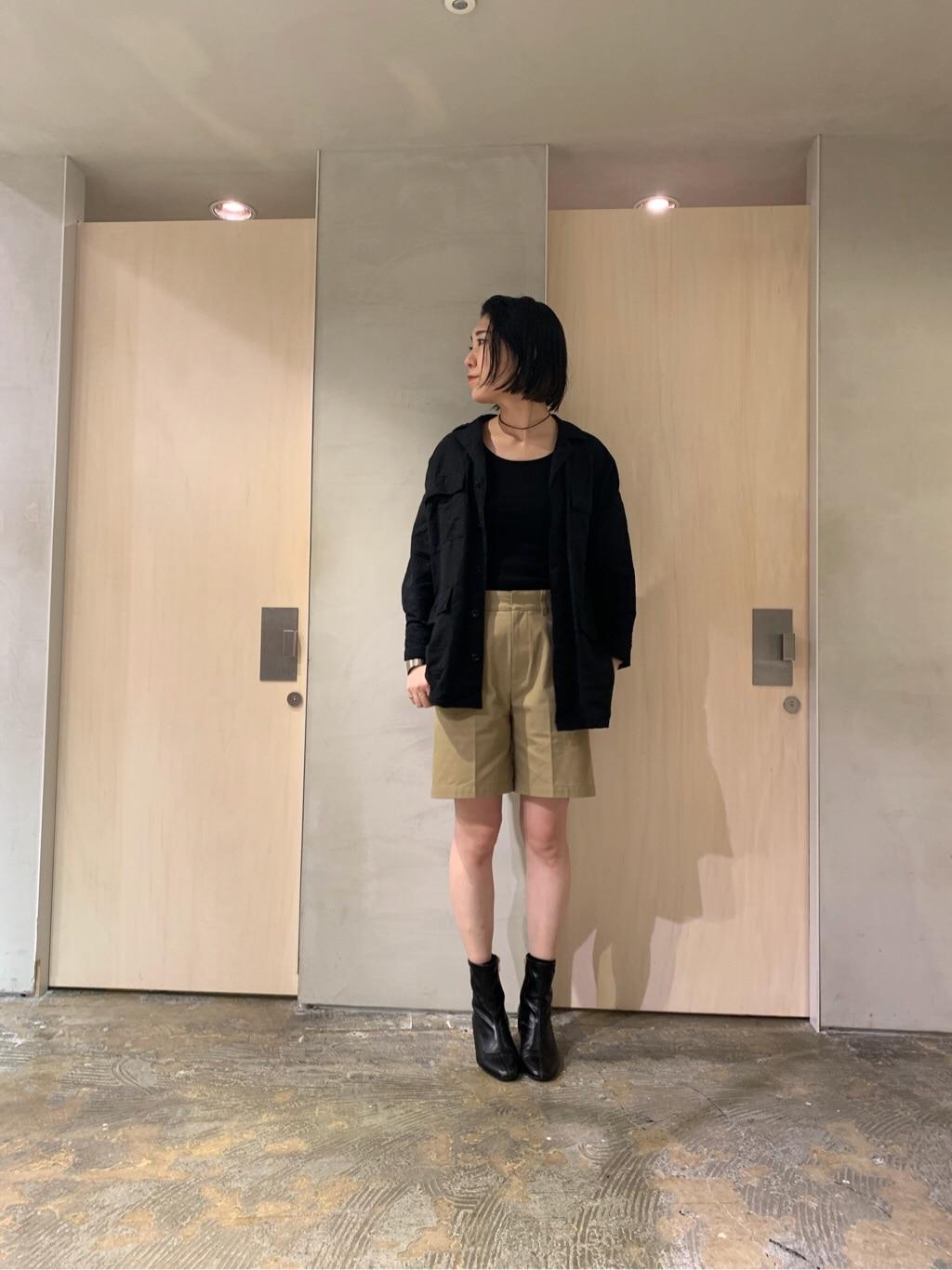 note et silence. ルミネ新宿 身長:169cm 2020.03.06