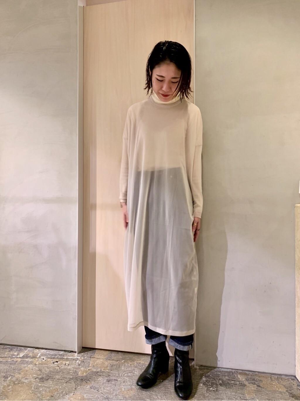 note et silence. ルミネ新宿 身長:169cm 2019.11.27