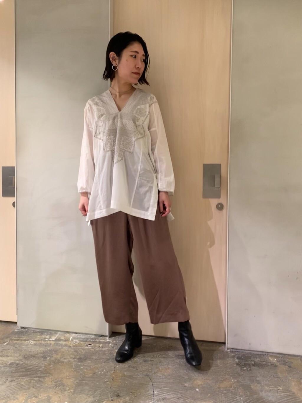 note et silence. ルミネ新宿 身長:169cm 2020.03.14
