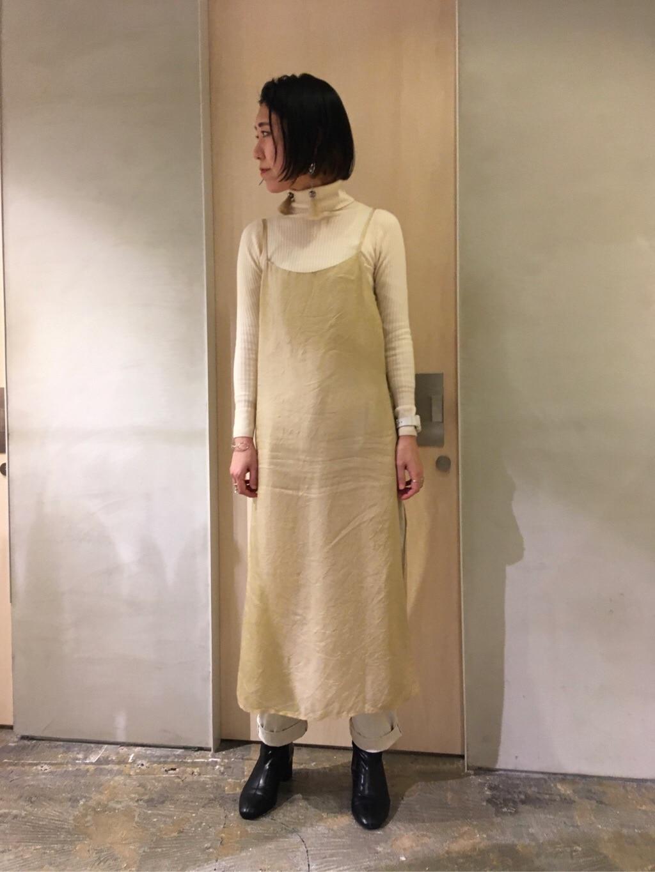 note et silence. ルミネ新宿 身長:169cm 2020.01.22