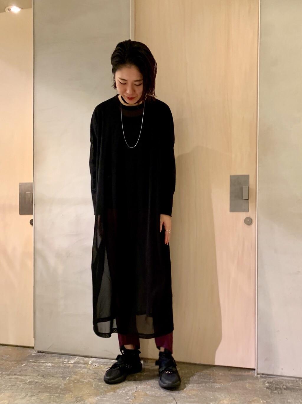 note et silence. ルミネ新宿 身長:169cm 2019.12.03
