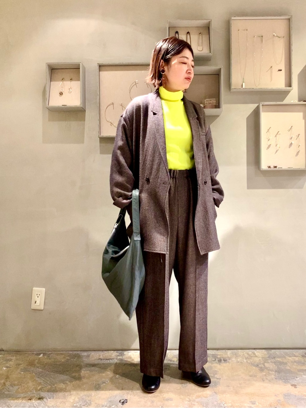 note et silence. ルミネ新宿 身長:155cm 2020.11.09