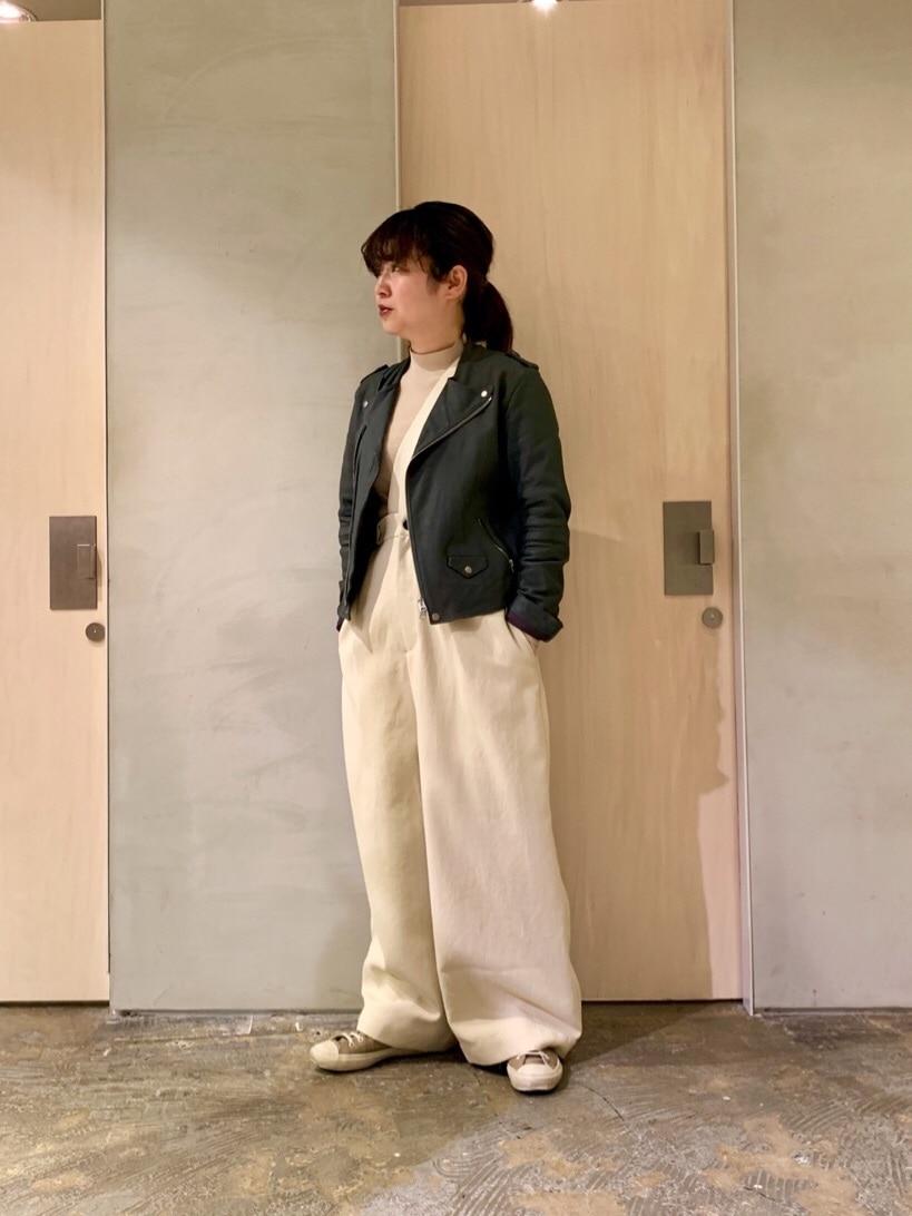 note et silence. ルミネ新宿 身長:155cm 2020.03.05