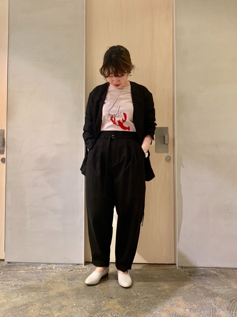 note et silence. ルミネ新宿 身長:155cm 2020.03.09