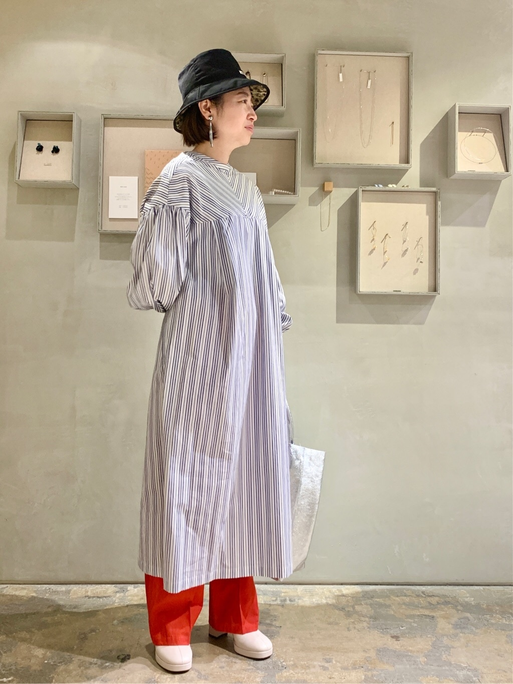 note et silence. ルミネ新宿 身長:155cm 2021.01.12