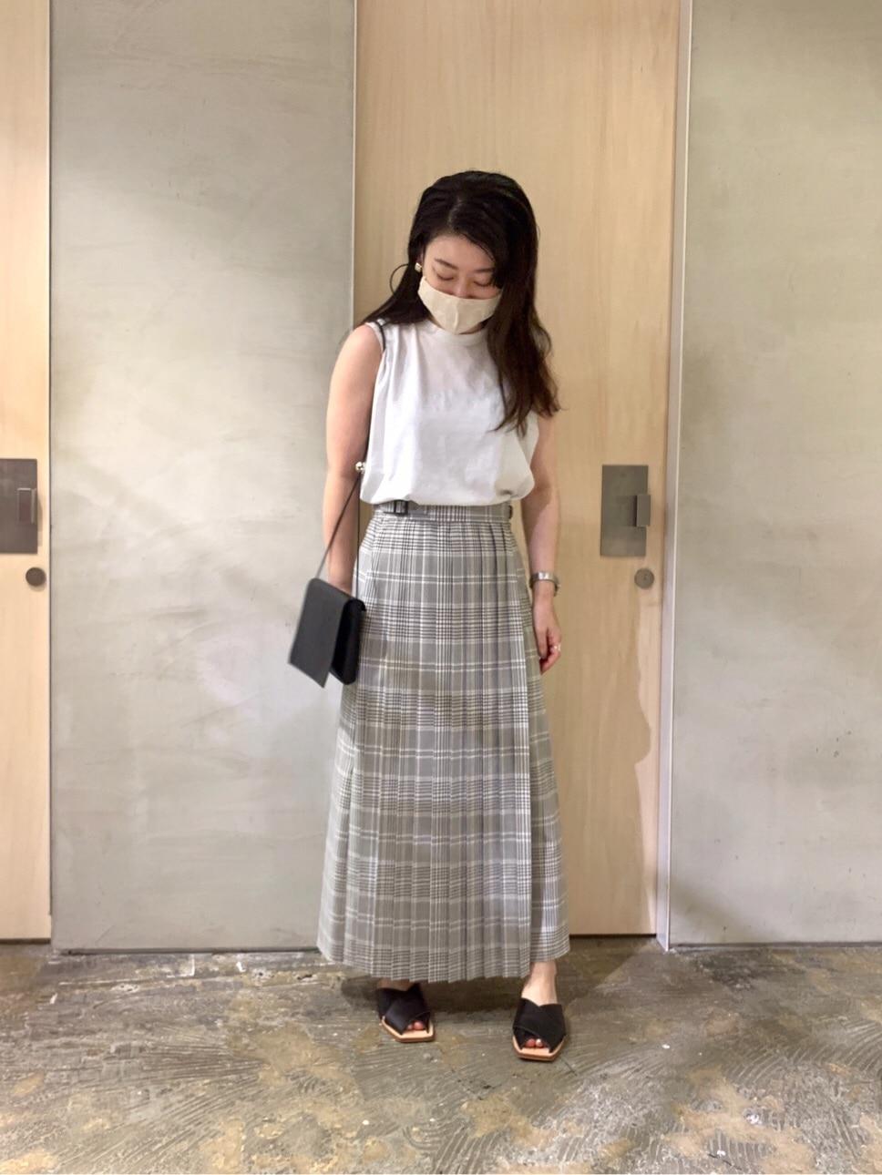 note et silence. ルミネ新宿 身長:155cm 2020.08.16
