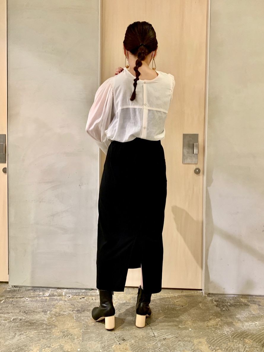 note et silence. ルミネ新宿 身長:155cm 2020.09.09