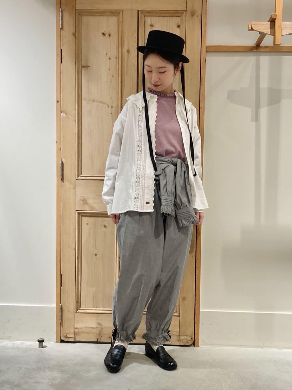 Malle chambre de charme 調布パルコ 身長:162cm 2021.10.14