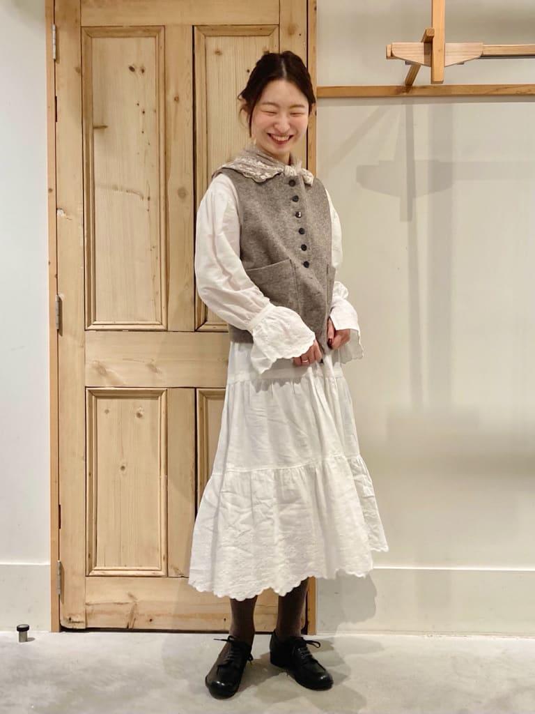 Malle chambre de charme 調布パルコ 身長:162cm 2021.10.22