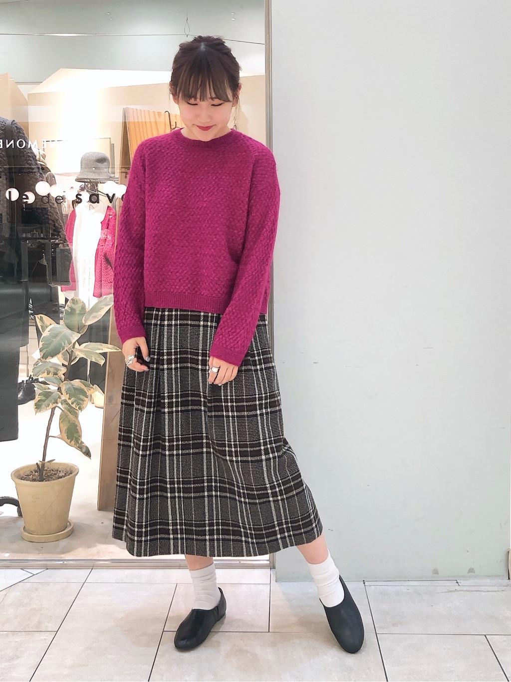 bulle de savon 阪急西宮ガーデンズ 身長:166cm 2019.11.12