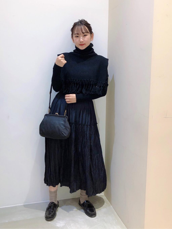 bulle de savon 阪急西宮ガーデンズ 身長:166cm 2020.11.27