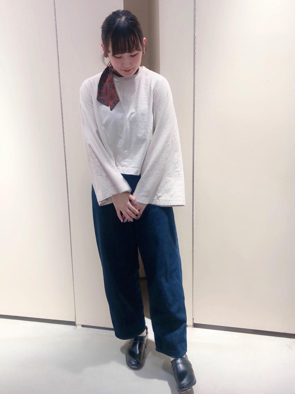 bulle de savon 阪急西宮ガーデンズ 身長:166cm 2020.02.21