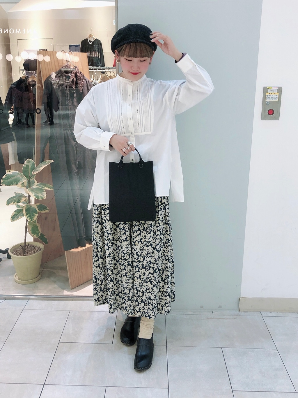 bulle de savon 阪急西宮ガーデンズ 身長:166cm 2019.12.18