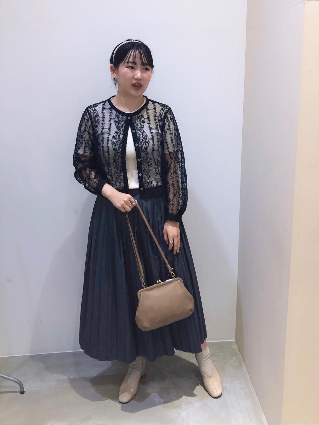 bulle de savon 阪急西宮ガーデンズ 身長:166cm 2020.09.02
