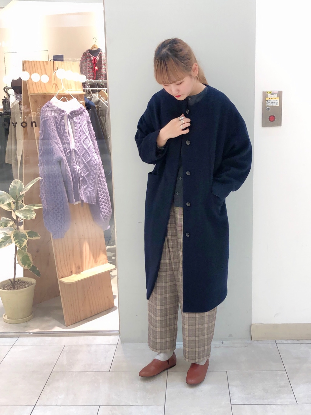 bulle de savon 阪急西宮ガーデンズ 身長:166cm 2019.12.09