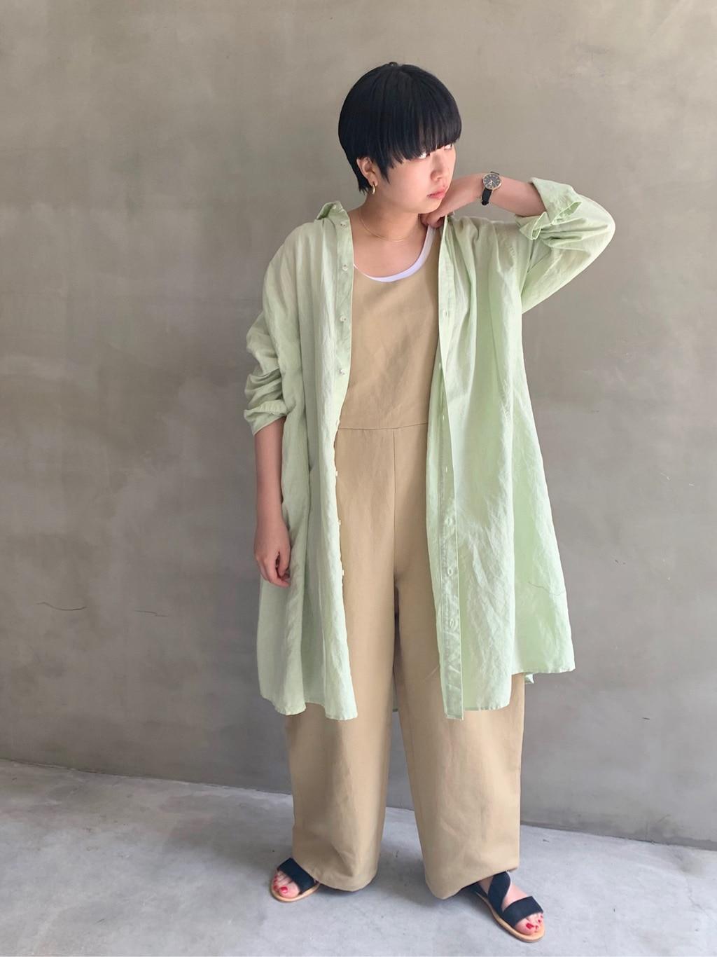 AMB SHOP l'atelier du savon FLAT AMB 天神イムズ 身長:156cm 2020.07.09