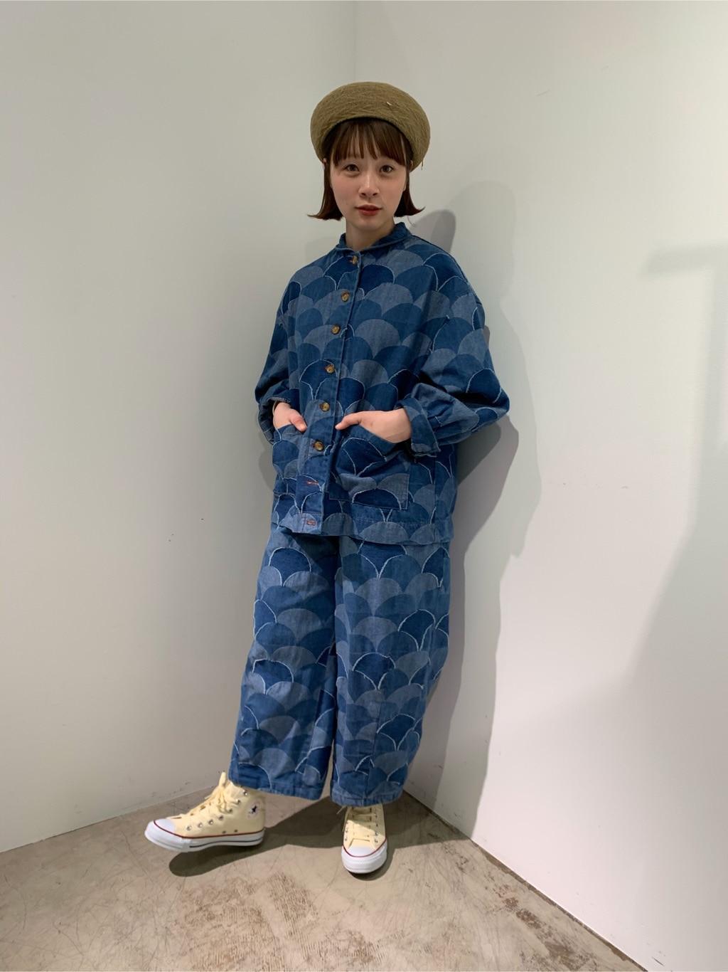 l'atelier du savon 広島パルコ 身長:157cm 2020.03.05