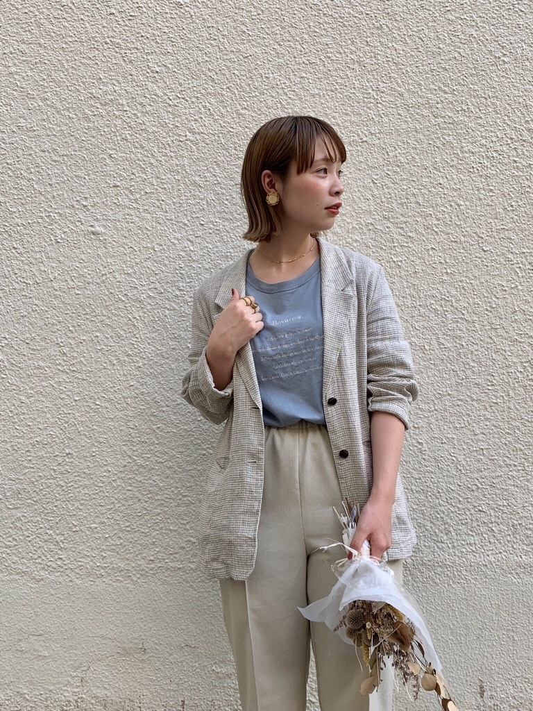 l'atelier du savon 広島パルコ 身長:157cm 2019.08.19