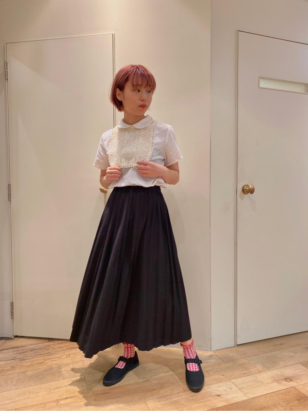 bulle de savon 新宿ミロード 身長:157cm 2020.07.03