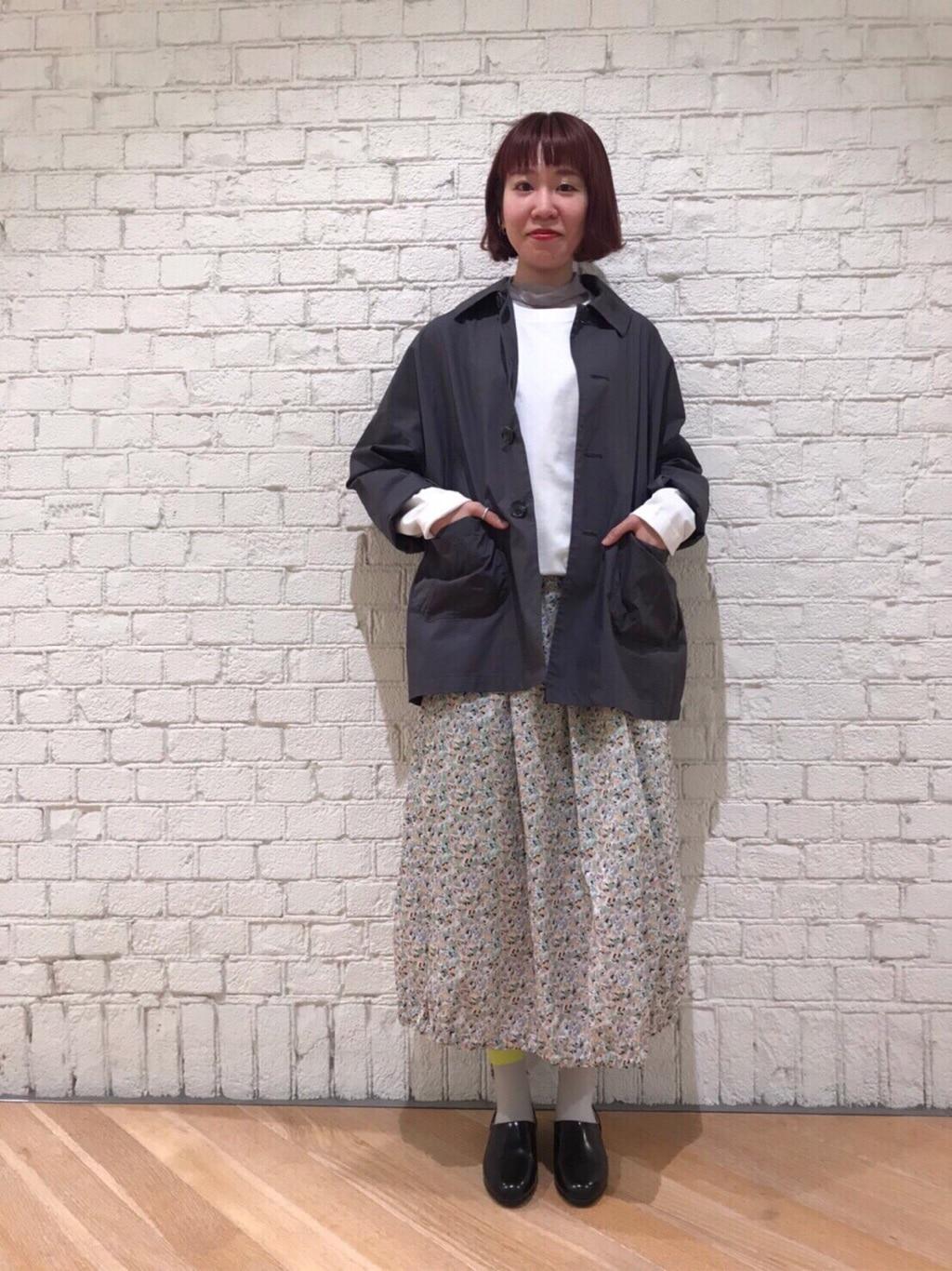 l'atelier du savon グランフロント大阪 身長:162cm 2020.04.18