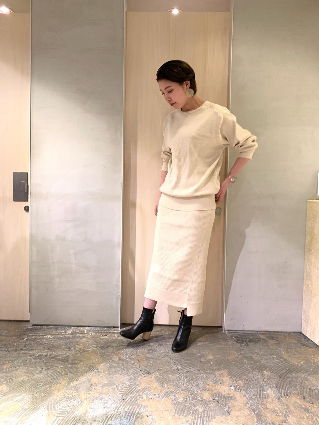 note et silence. ルミネ新宿 身長:166cm 2019.08.17