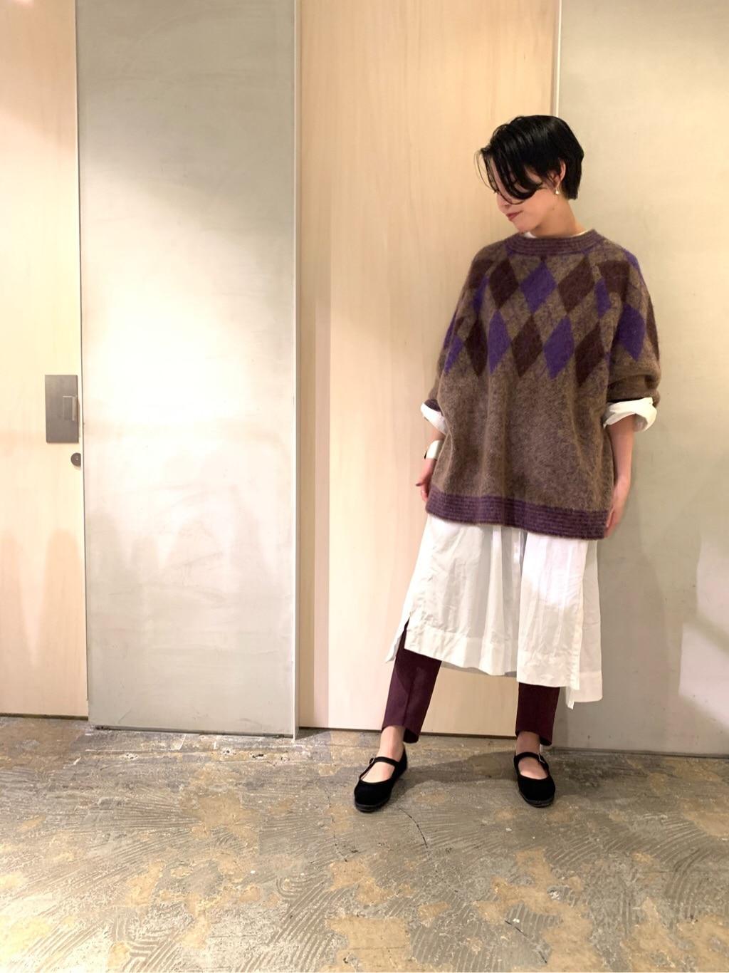 note et silence. ルミネ新宿 身長:166cm 2019.11.09
