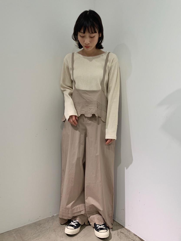 l'atelier du savon 広島パルコ 身長:153cm 2020.01.30