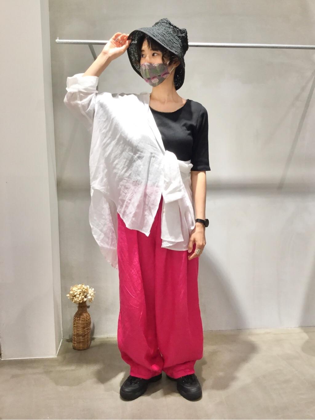 yuni / bulle de savon 京都路面 身長:159cm 2020.07.29