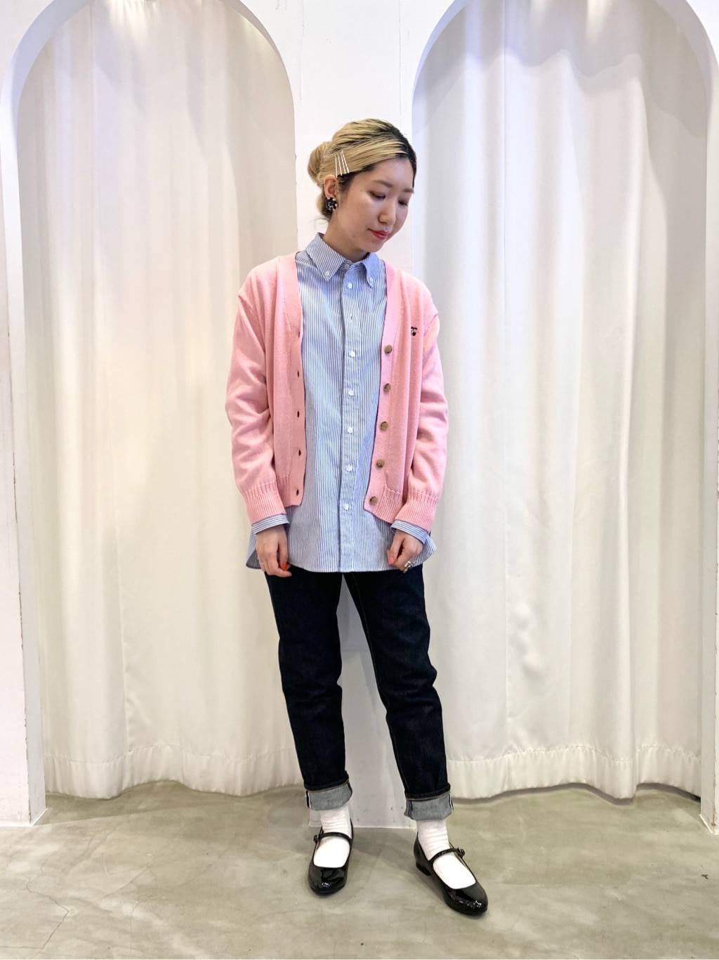 Dot and Stripes CHILD WOMAN ラフォーレ原宿 身長:160cm 2021.02.08