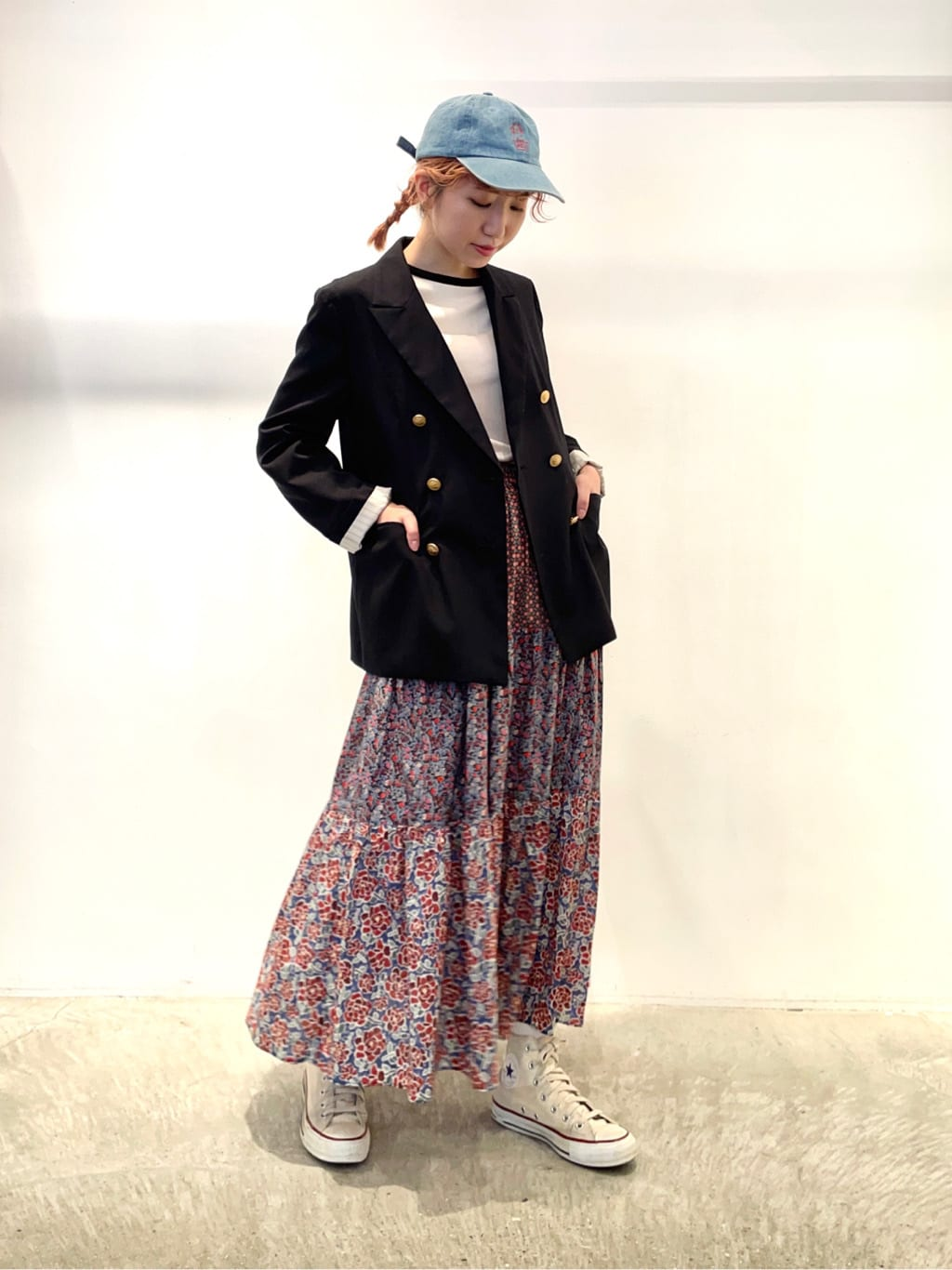 - CHILD WOMAN 原宿路面 身長:160cm 2021.09.29