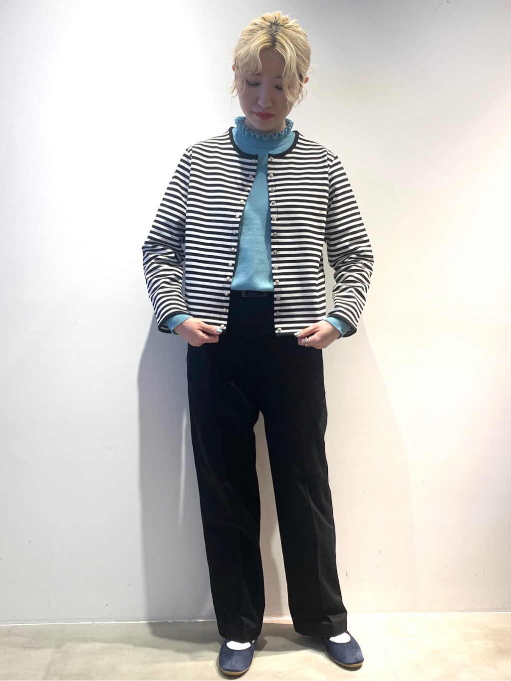Dot and Stripes CHILD WOMAN ラフォーレ原宿 身長:160cm 2021.01.04