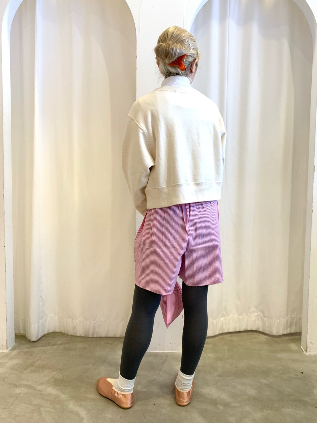 Dot and Stripes CHILD WOMAN ラフォーレ原宿 身長:160cm 2021.01.12