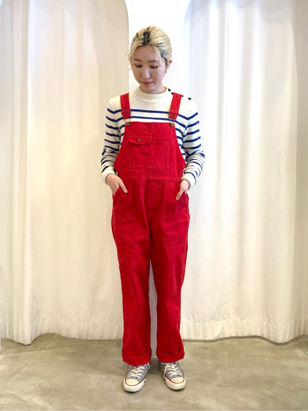 Dot and Stripes CHILD WOMAN ラフォーレ原宿 身長:160cm 2021.01.08