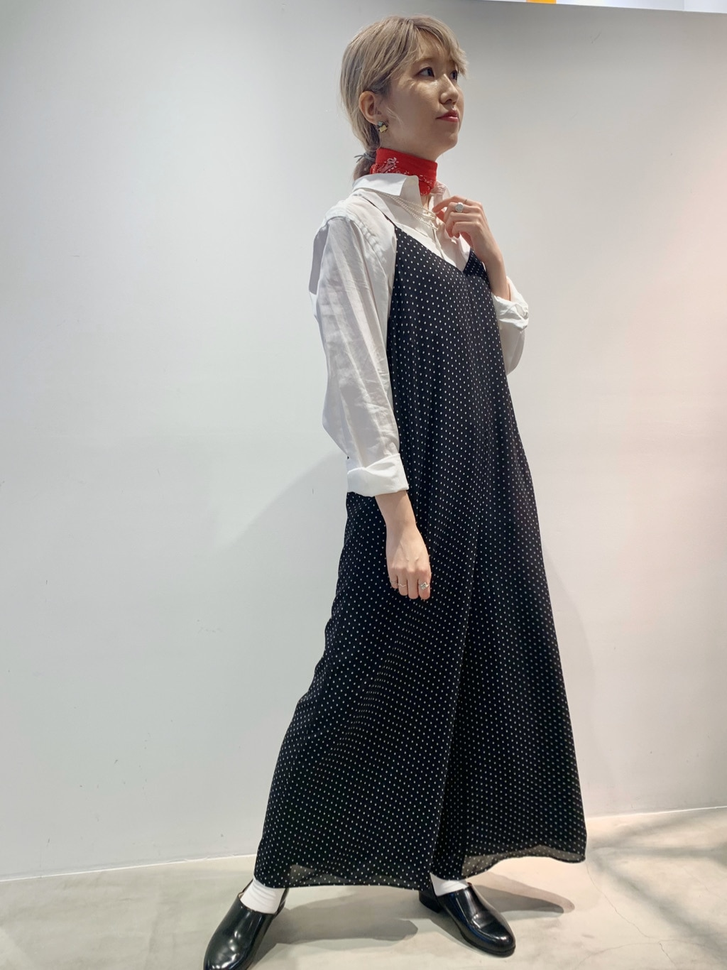Dot and Stripes CHILD WOMAN ラフォーレ原宿 身長:160cm 2020.09.03