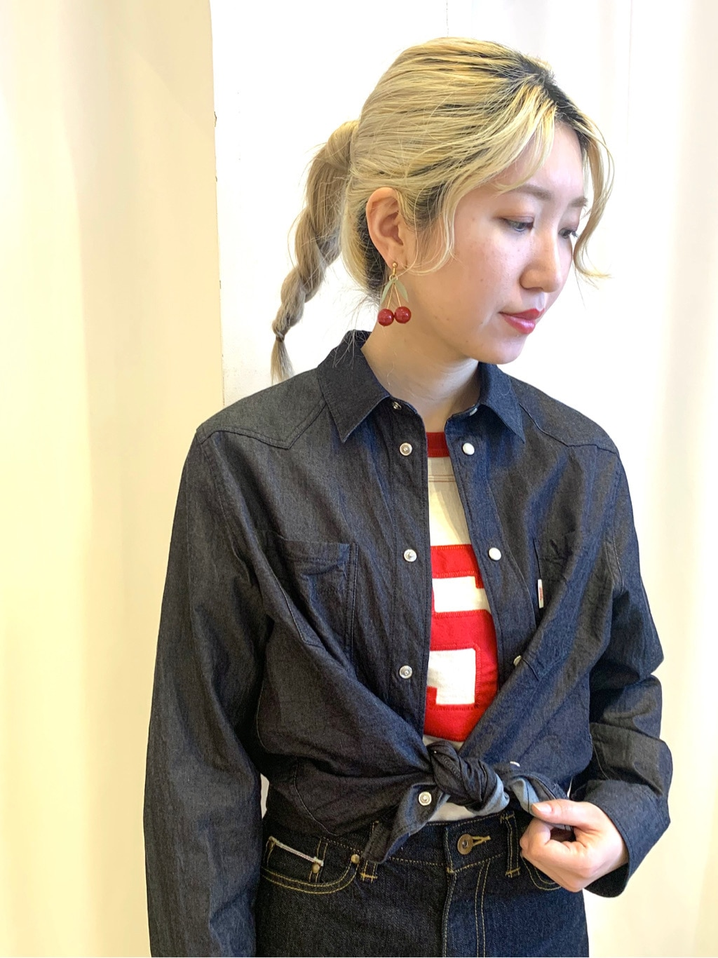 Dot and Stripes CHILD WOMAN ラフォーレ原宿 身長:160cm 2021.01.23