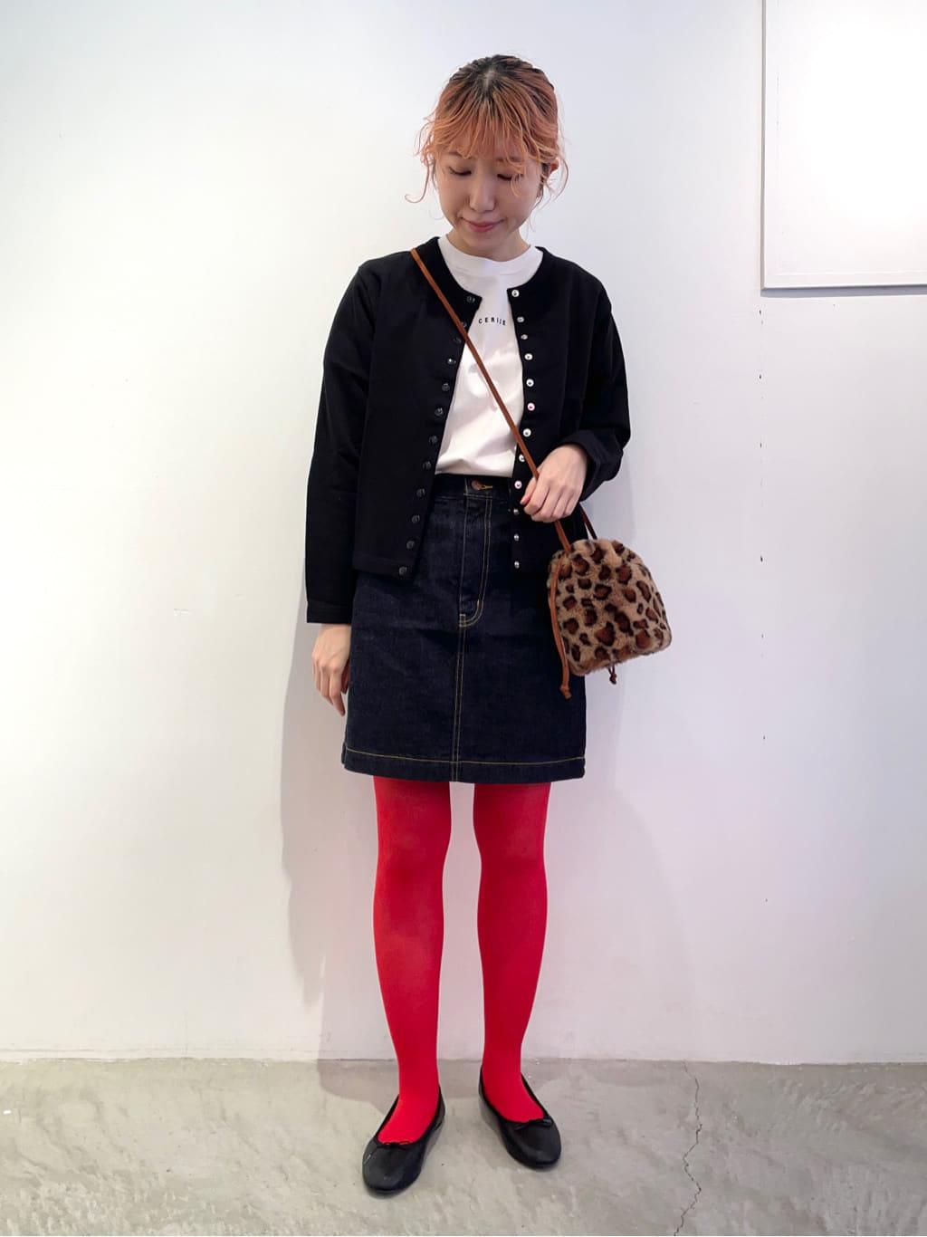 - CHILD WOMAN 原宿路面 身長:160cm 2021.09.20