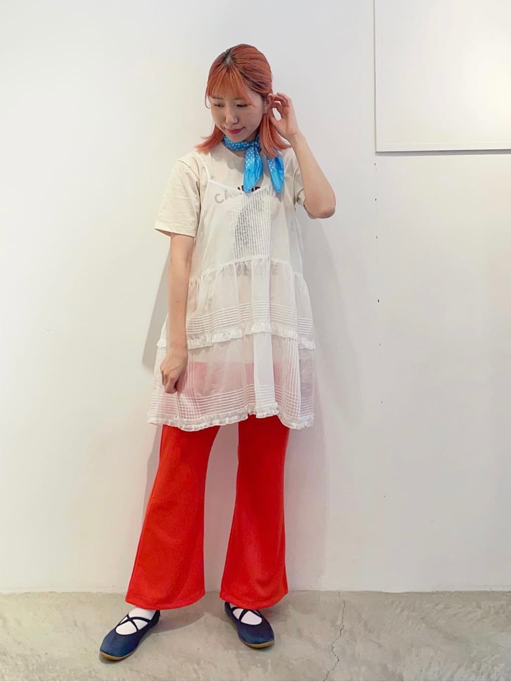 - CHILD WOMAN 原宿路面 身長:160cm 2021.08.17