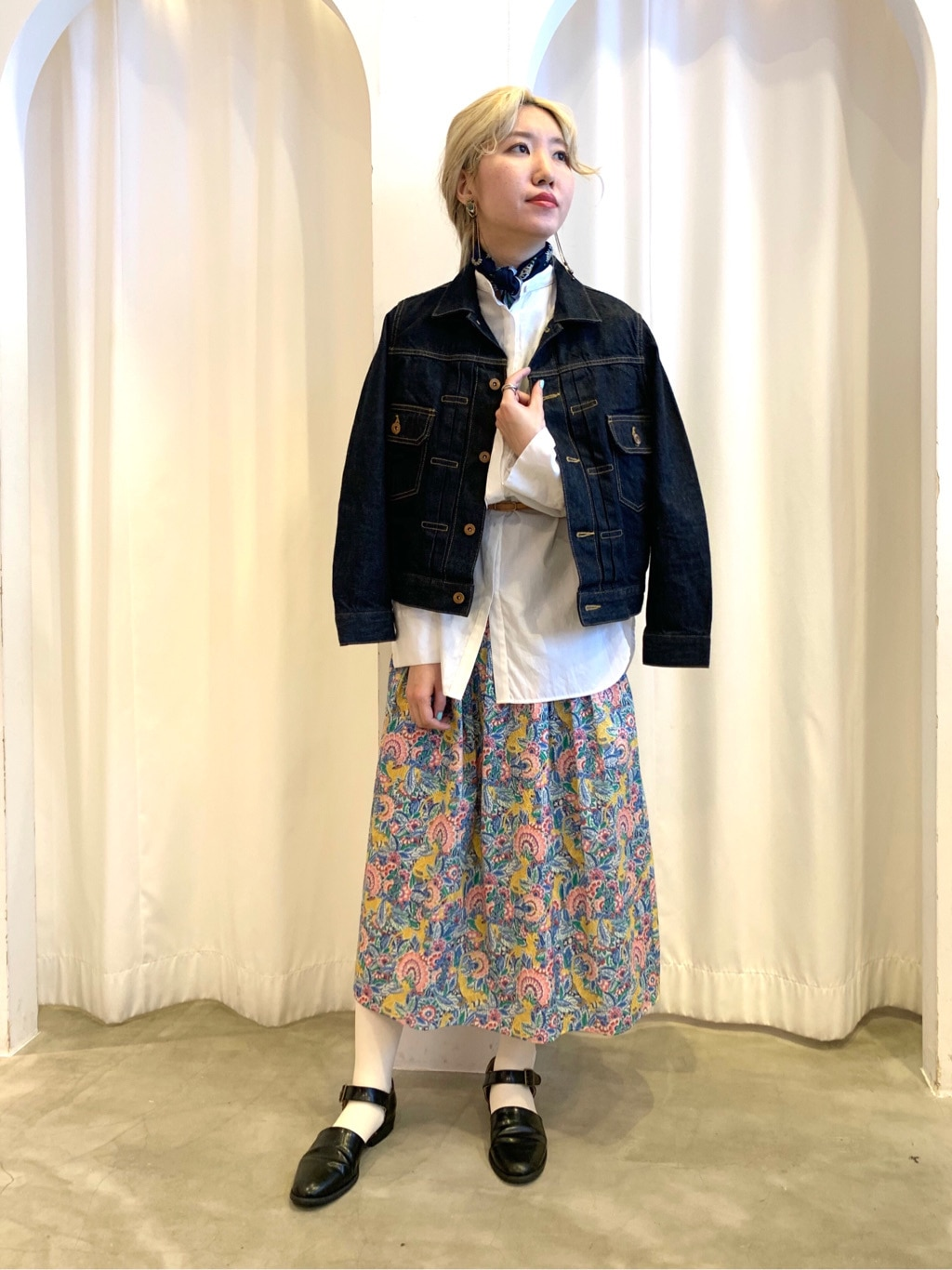 Dot and Stripes CHILD WOMAN ラフォーレ原宿 身長:160cm 2020.12.20