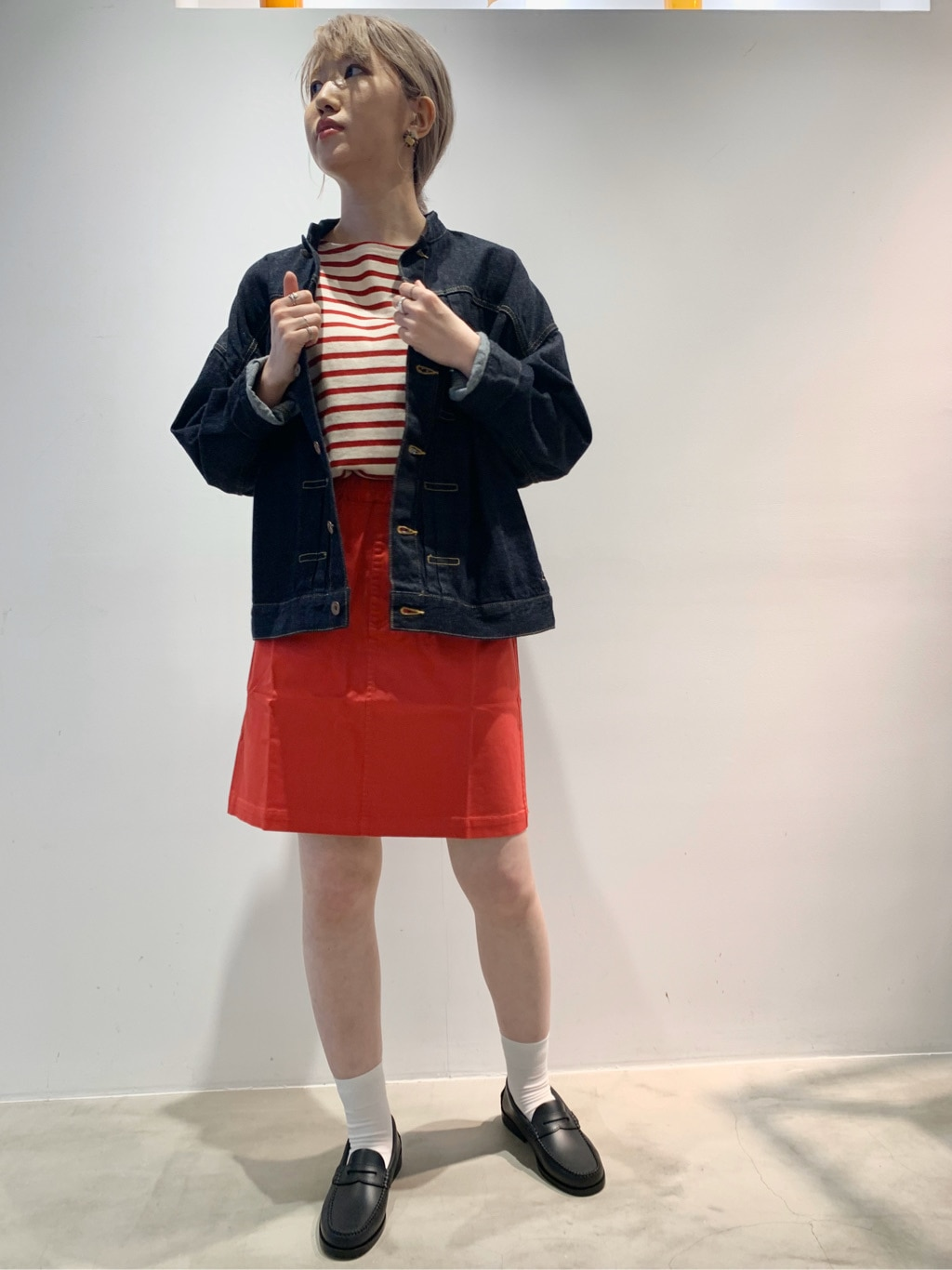 Dot and Stripes CHILD WOMAN ラフォーレ原宿 身長:160cm 2020.09.02