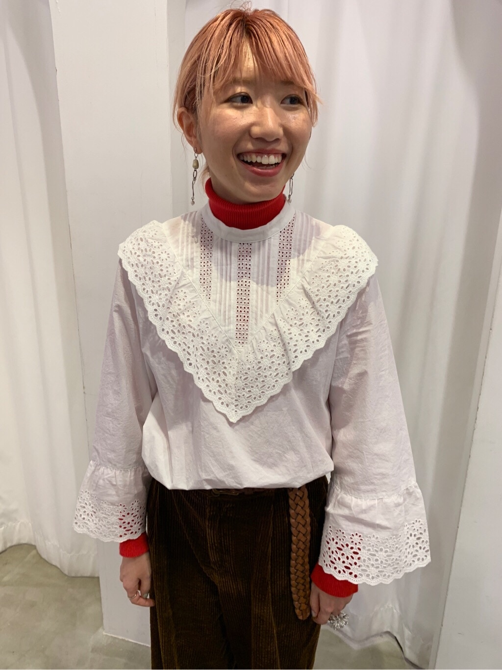 Dot and Stripes CHILD WOMAN 新宿ミロード 身長:160cm 2019.10.31