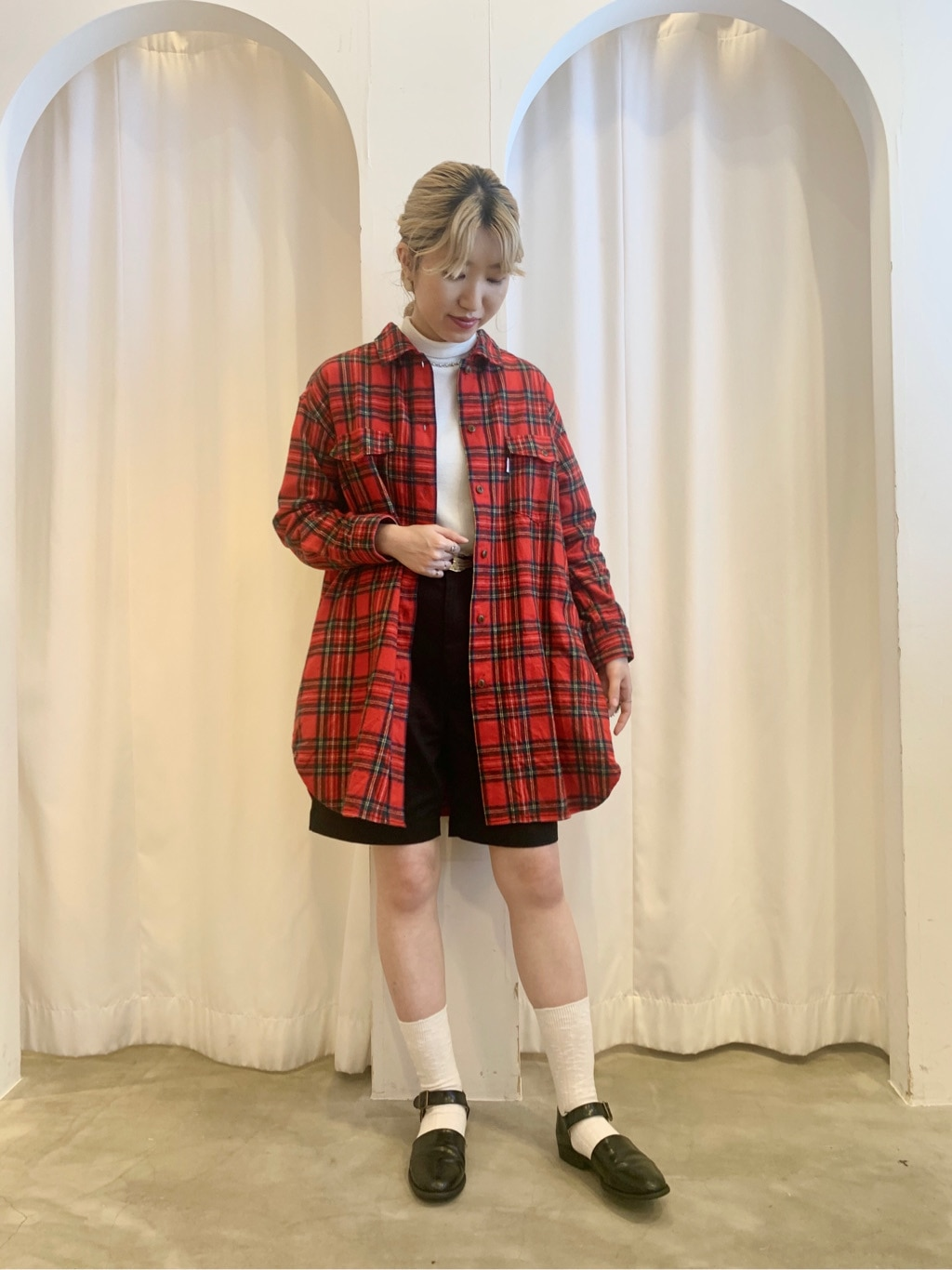 Dot and Stripes CHILD WOMAN ラフォーレ原宿 身長:160cm 2020.10.24
