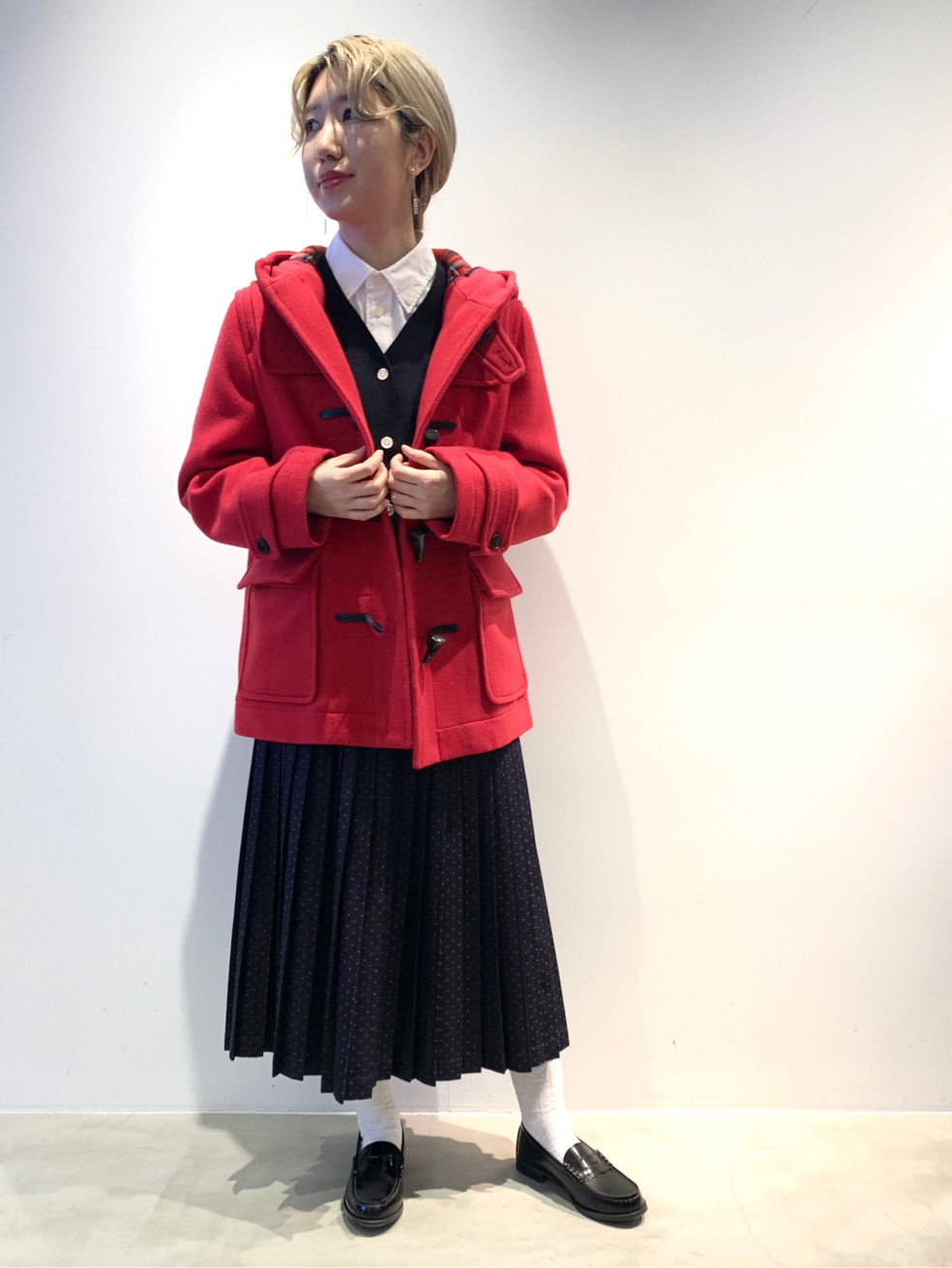 Dot and Stripes CHILD WOMAN ラフォーレ原宿 身長:160cm 2020.12.22