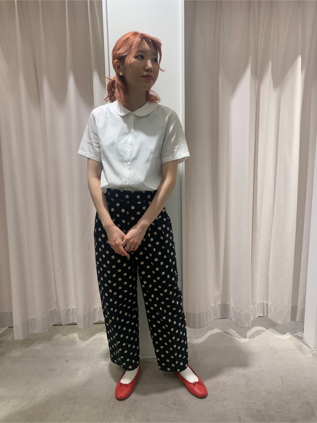 Dot and Stripes CHILD WOMAN ラフォーレ原宿 身長:160cm 2021.04.15