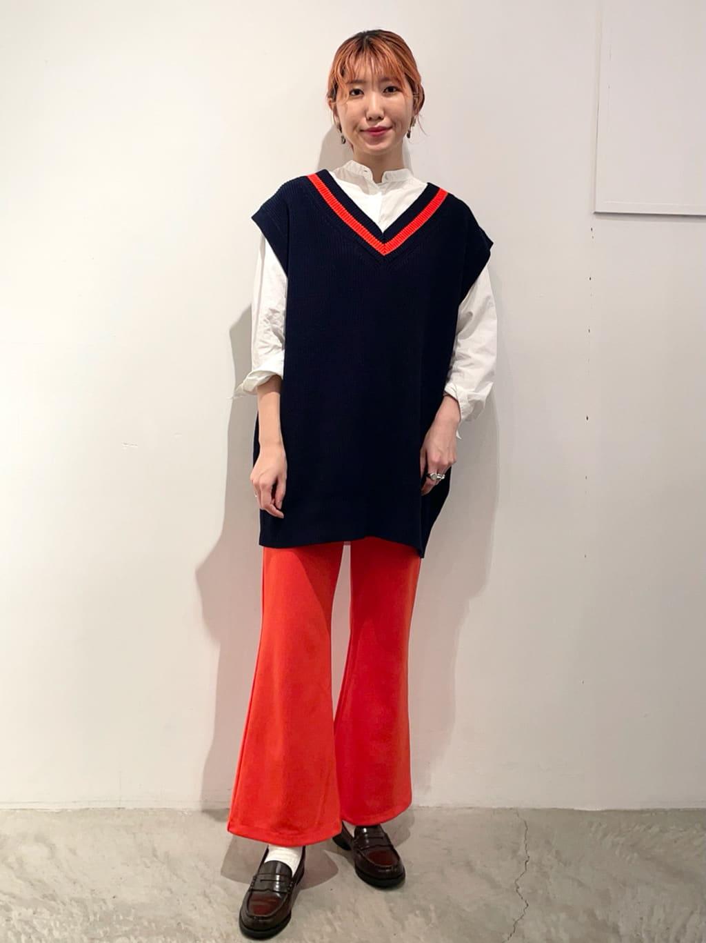 - CHILD WOMAN 原宿路面 身長:160cm 2021.09.15
