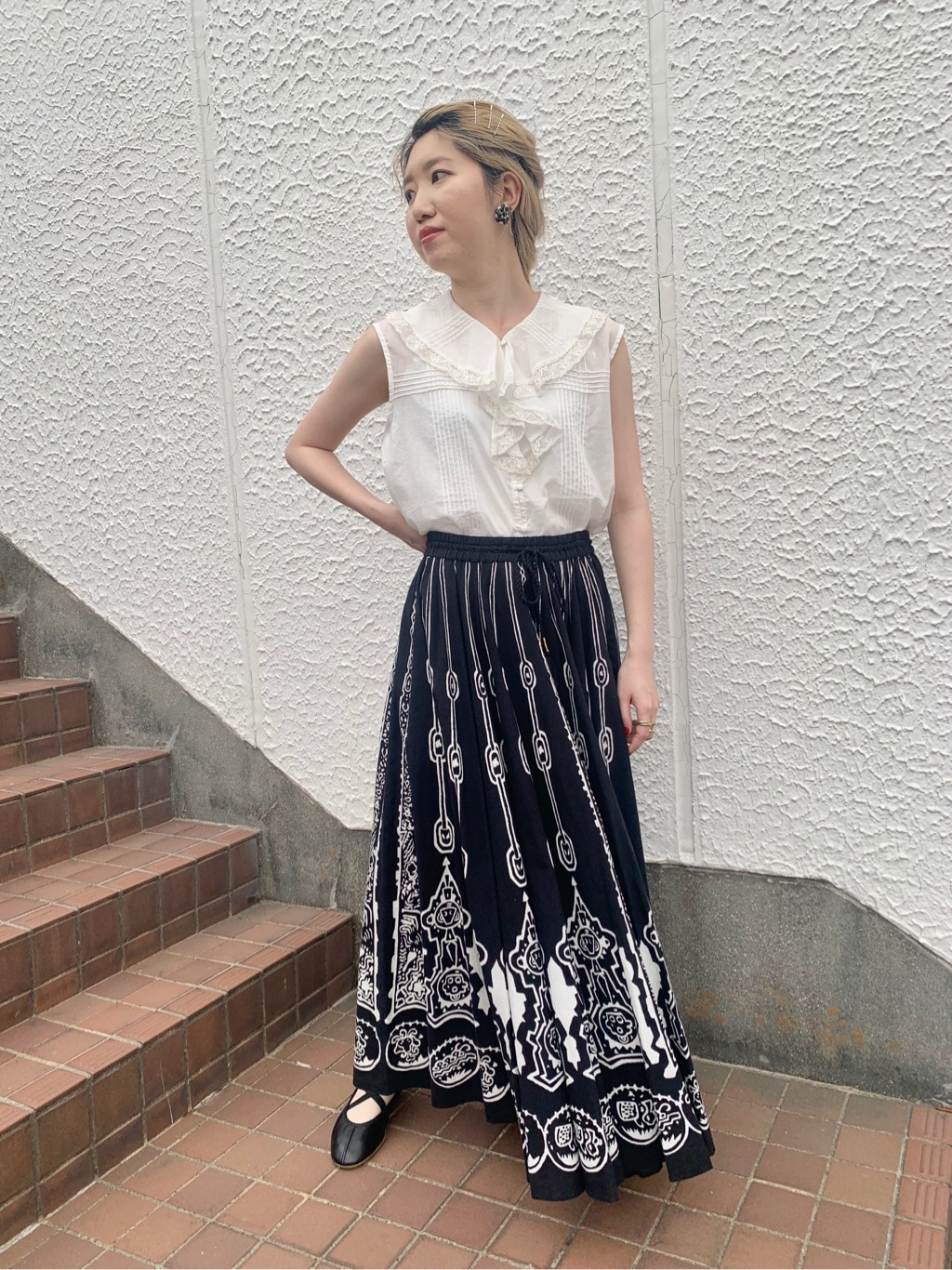 Dot and Stripes CHILD WOMAN ラフォーレ原宿 身長:160cm 2020.06.08